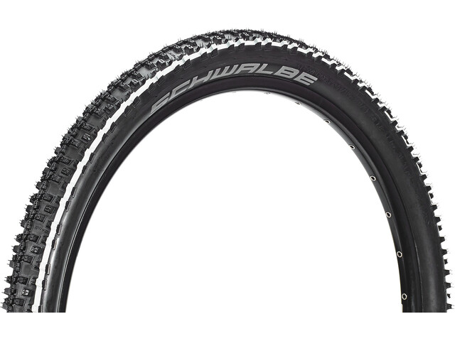 "SCHWALBE Smart Sam Cubierta Carretera Alambre 26"" Addix Performance, white stripes"